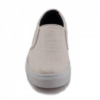 NAE vegan shoes Vegan sneaker Bare White