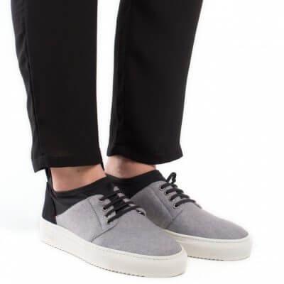 NAE vegan shoes Lage vegan sneaker Re-Pet Grey