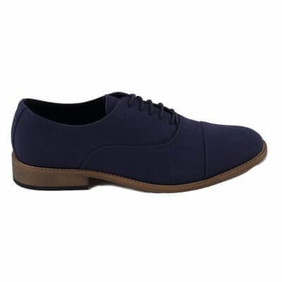NAE vegan shoes vegan veterschoen Oliver blue
