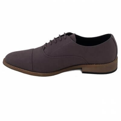 NAE vegan shoes vegan veterschoen Oliver Grey