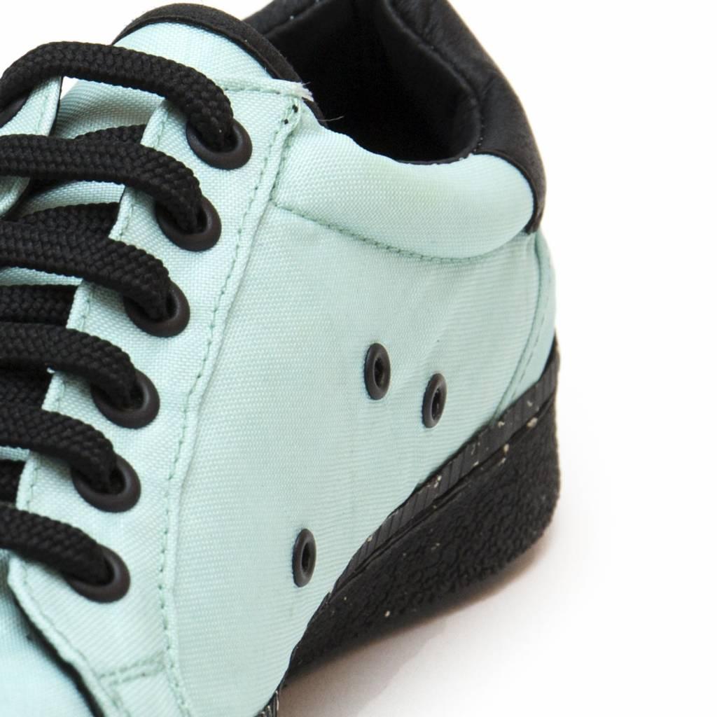 NAE vegan shoes Airbag sneaker green