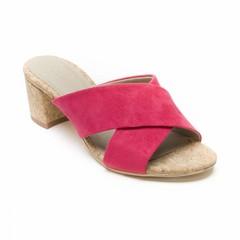 Kurk sandaal Anita roze