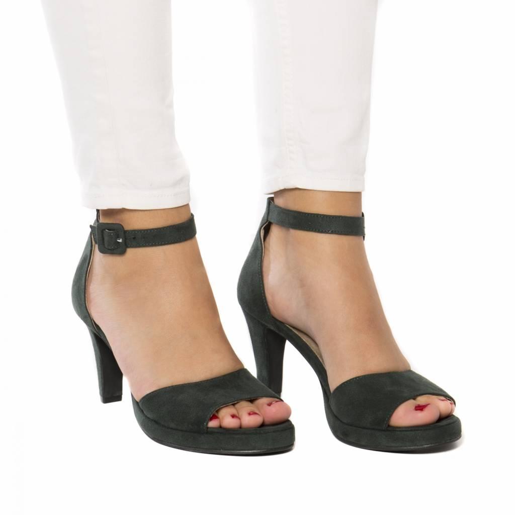 NAE vegan shoes Sandaal Regina groen