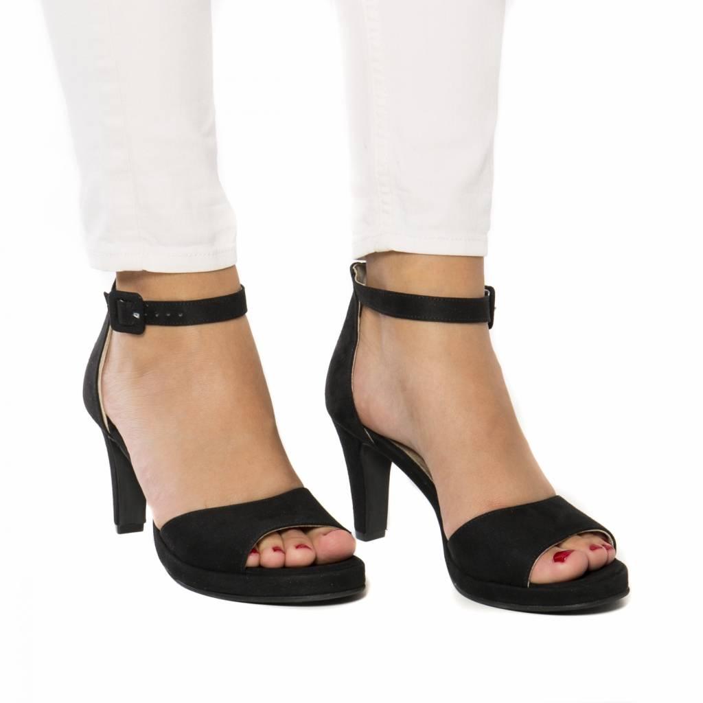NAE vegan shoes Sandaal Regina zwart