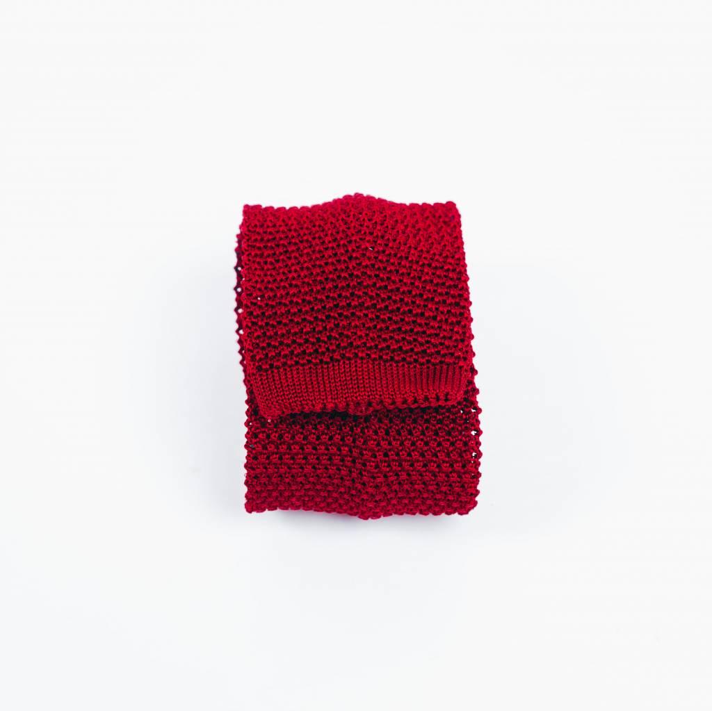 Maximilian Mogg Rote Strickkrawatte