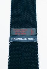 Maximilian Mogg Navy Strickkrawatte