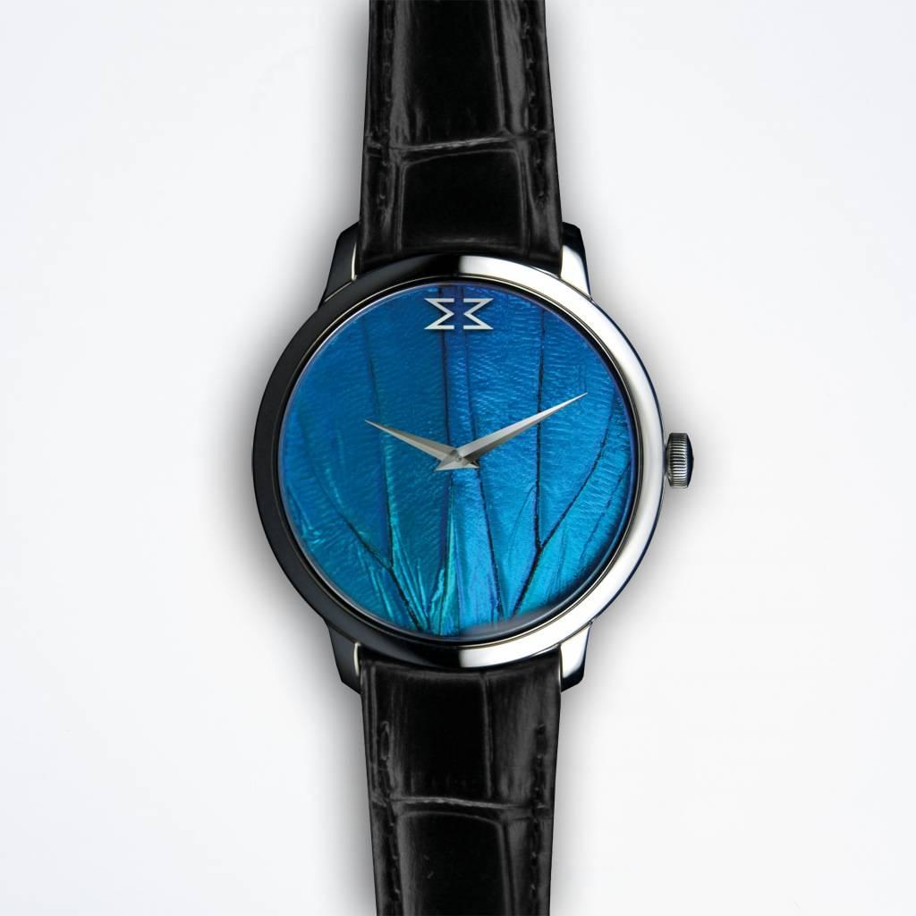 Maximilian Mogg Blaue Dresswatch
