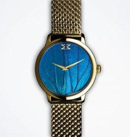 Maximilian Mogg Khamama Blue 1874 Timepiece - Steel Strap