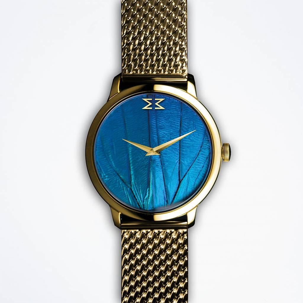 Maximilian Mogg Blaue Dresswatch - Steel Strap