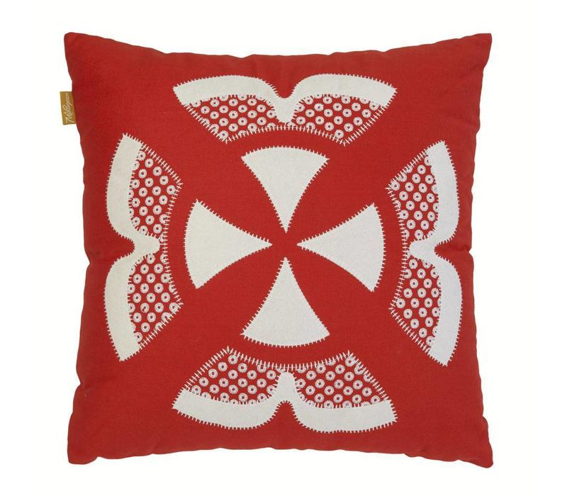 Ishara cushion red