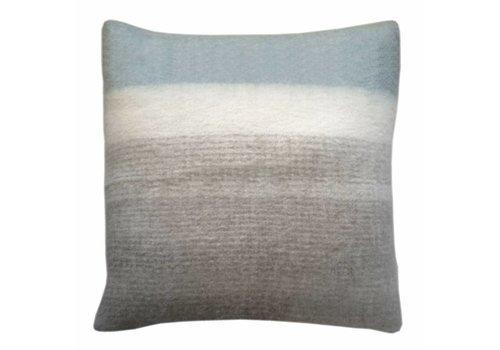 Light grey mohair cushion (March 30)