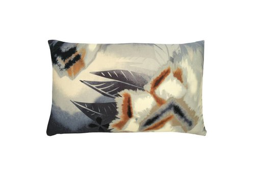 Desert flower cushion indigo