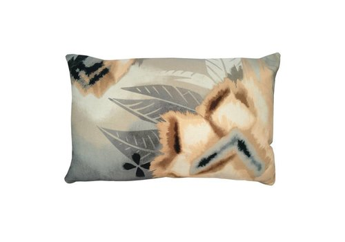 Desert flower cushion peach pink