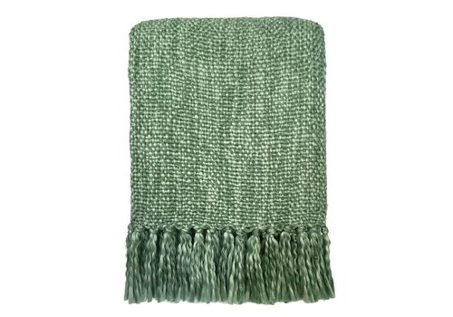 Marble green throw (vanaf 30 april)