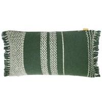 Berber turtle green cushion
