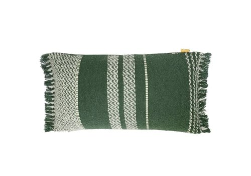 Berber turtle green cushion (from March 1)