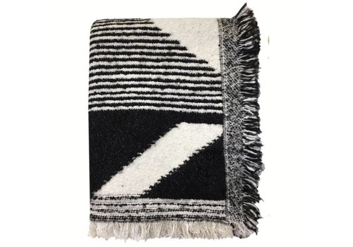 Nomad black throw