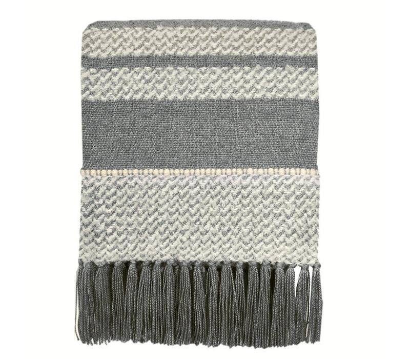 Berber grey throw