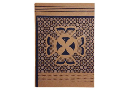 Craft indigo notebook