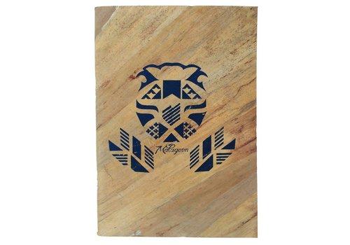 Waterleaf lion notebook