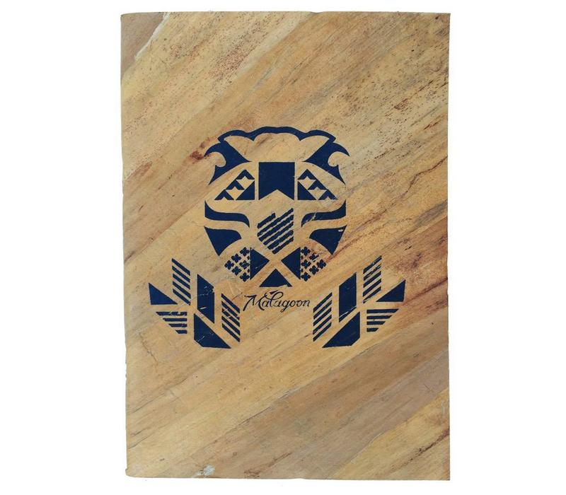 Waterleaf lion notebook