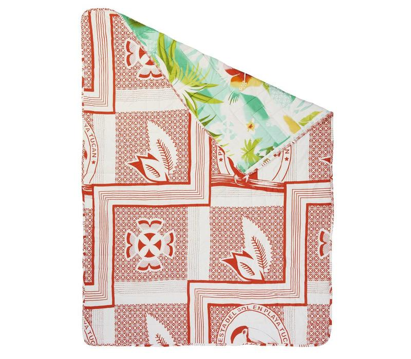 Pacific flower quilt