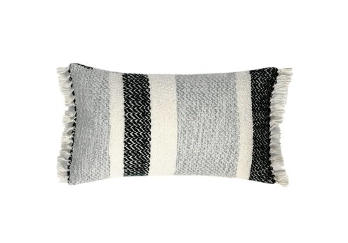 Berber grainy black cushion (NEW)