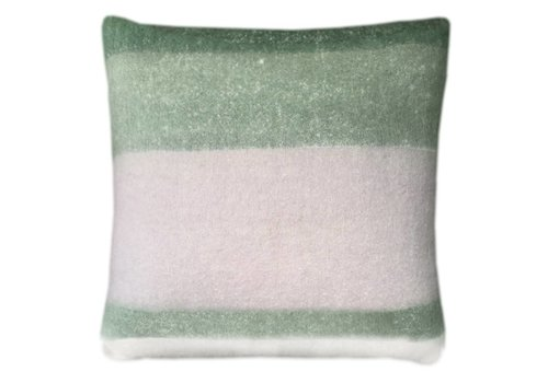 Leaf green mohair cushion (NEW, from March 1)