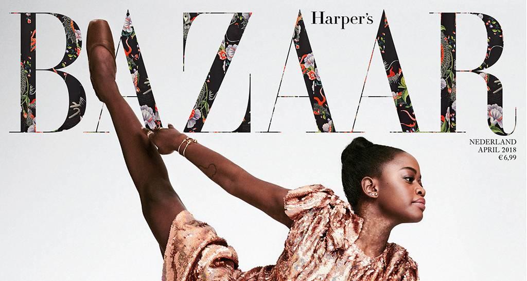 Nu in Harper's Bazaar: THE HIGH LIFE