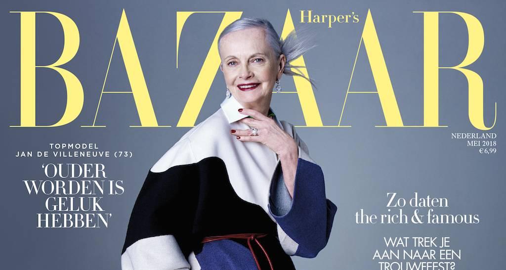 Harper's Bazaar mei: Love your age