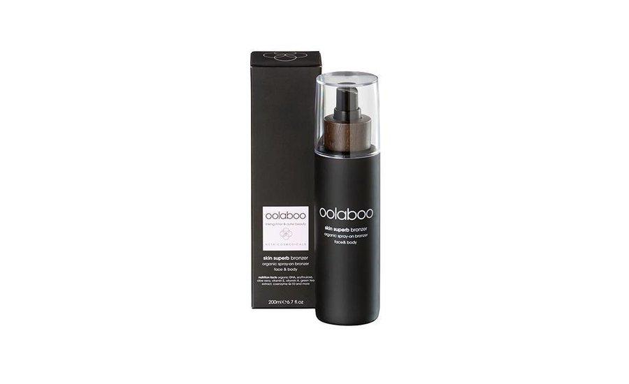 skin superb organic spray-on bronzer