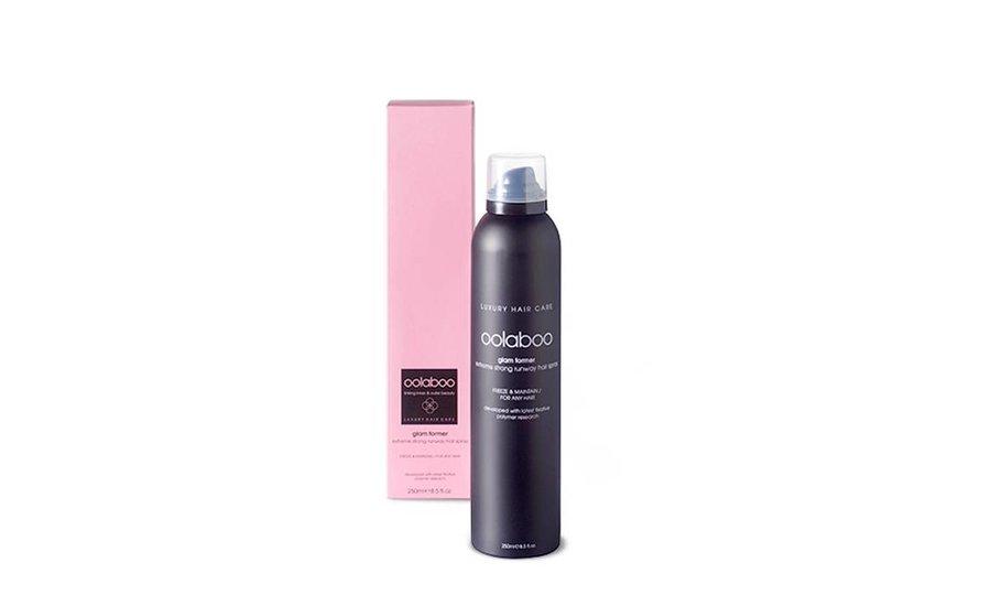 glam former runway hair spray