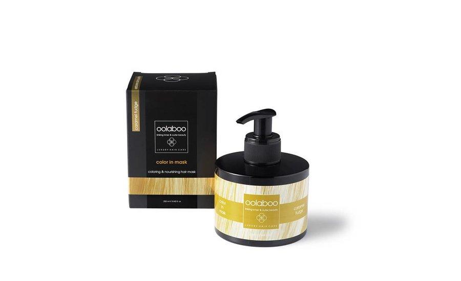 color in mask caramel fudge  250 ml