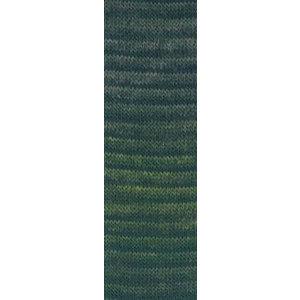 Lang Yarns Jawoll Magic 18 Groen/zwart
