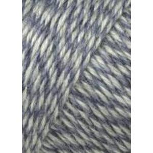 Lang Yarns Jawoll Superwash 151 Blauw/grijs gemeleeerd