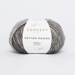 Cotton-Merino plus 300 Grijs