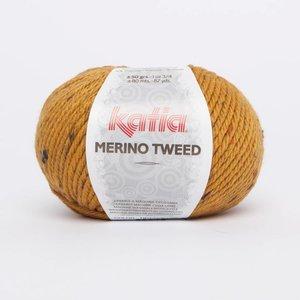 Merino Tweed 411 Geel