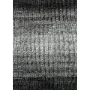 Lang Yarns Merino Dipinto 5 zwart/grijs