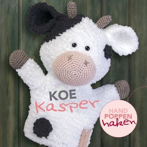 CuteDutch garenpakket handpop Koe Kasper