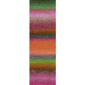 Lang Yarns Mille Colori Socks & Lace 55 roze/groen