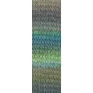 Lang Yarns Mille Colori Socks & Lace 16 groen/bruin/blauw