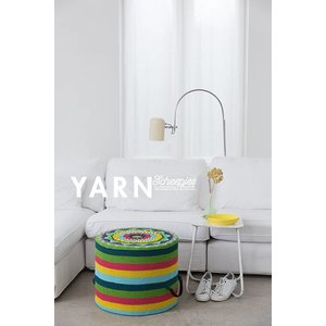 Tropical Flower Pouf - Yarn 3