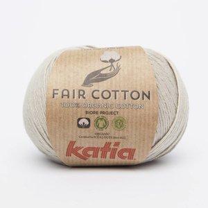 Fair Cotton 11 Parelmoer-lichtgrijs