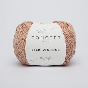 Silk-Viscose 53 Oranje-Koraal