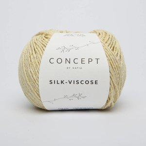 Silk-Viscose 52 Citroengeel