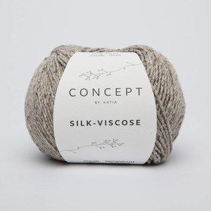 Silk-Viscose 50 Bruingrijs