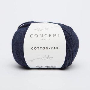 Cotton-Yak 115 Donkerblauw