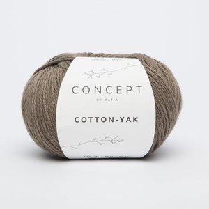 Cotton-Yak 103 Bruingrijs