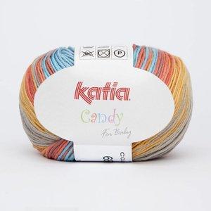 Katia Candy 666 Turquoise - Zalmoranje - Beige
