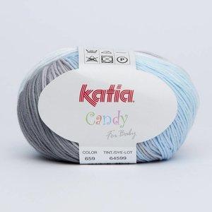 Katia Candy 659 Blauw-Grijs